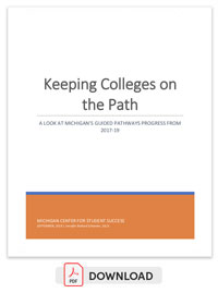 Keeping Colleges on the Right Path